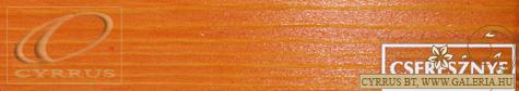 2/5. Cseresznye vastaglazúr mintadarab